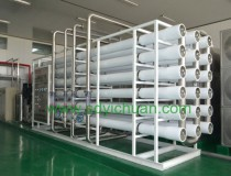 Shandong Paul food 100T water treatment project delivery